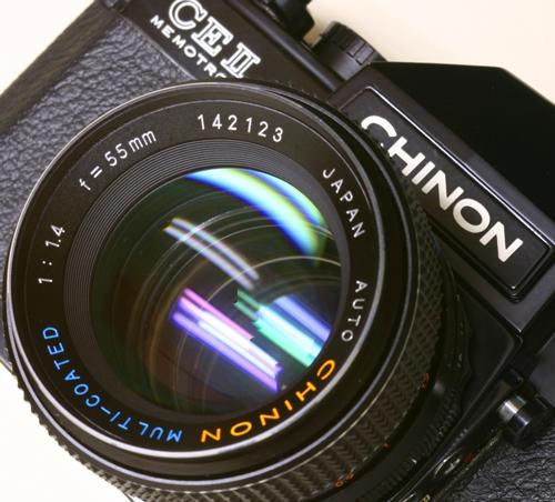 Pentax 阵营之 Chinon 启能 篇