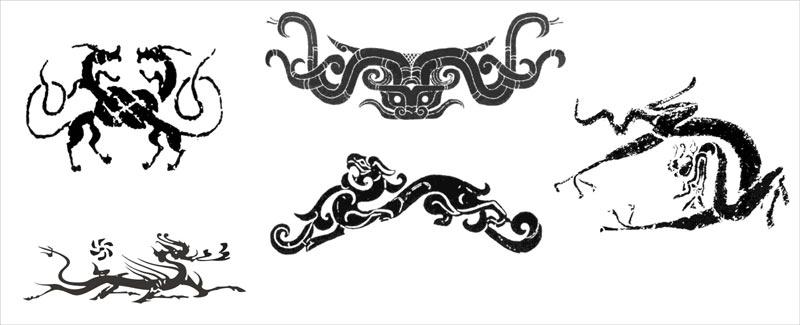 玛雅图腾手上纹身原稿分享展示