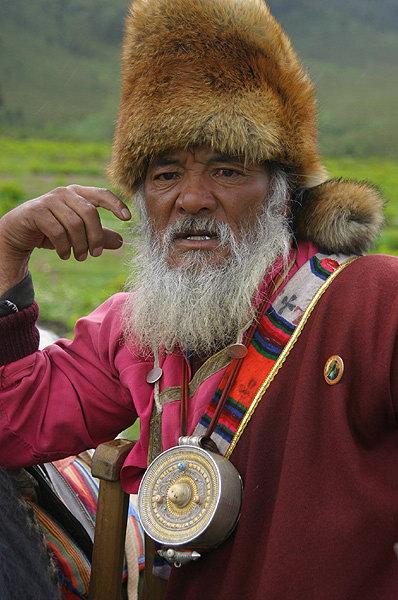 jameswang17作品:藏民人像