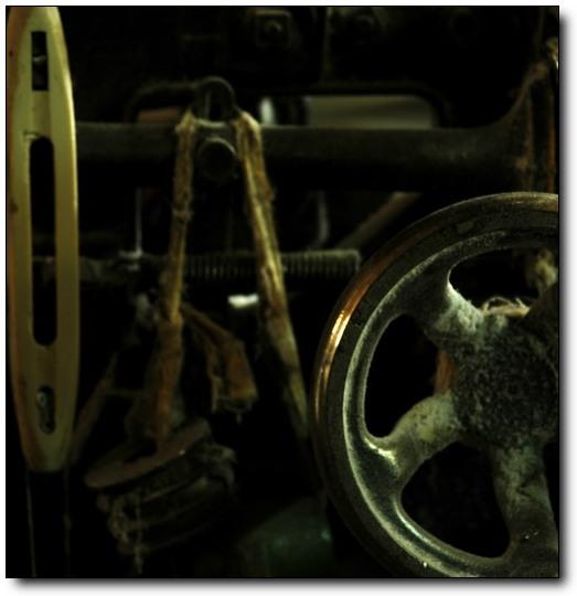 海狸作品:还在服役的老机器
