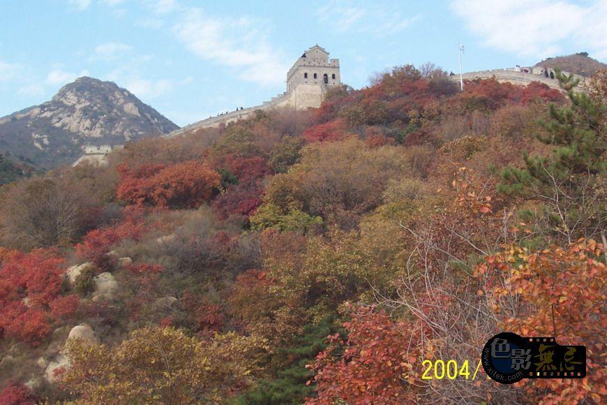 林坡作品:长城秋色