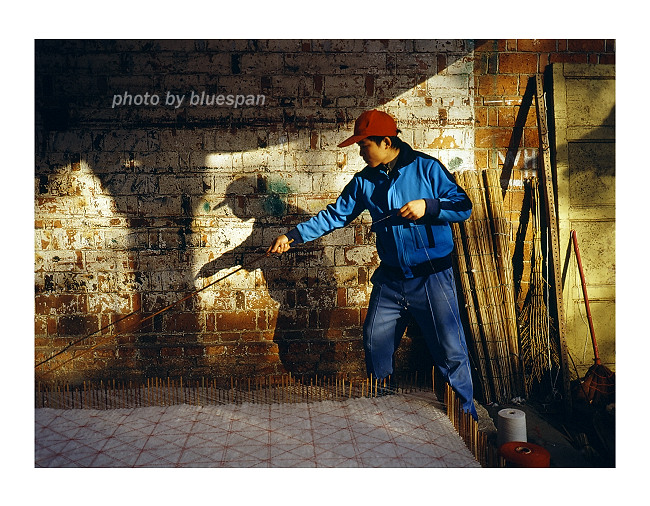 bluespan作品:勾棉絮的匠人01