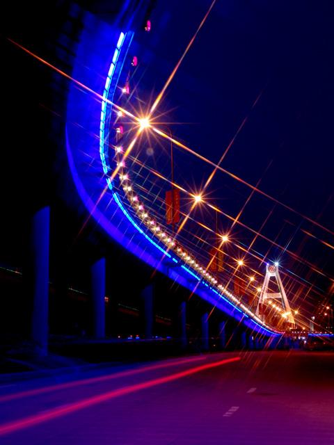 贫下中工作品:立交桥