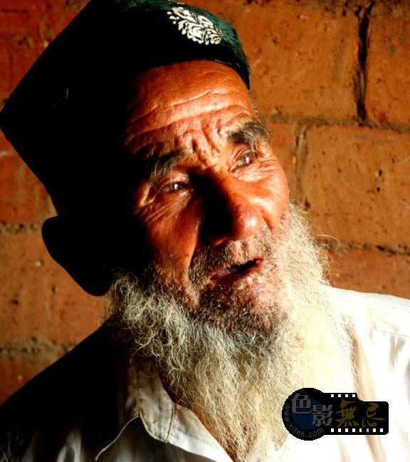 天下第二摄影作品 维吾尔族的老人