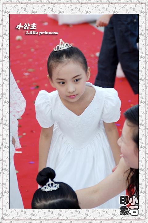 摄影作品 花童小公主