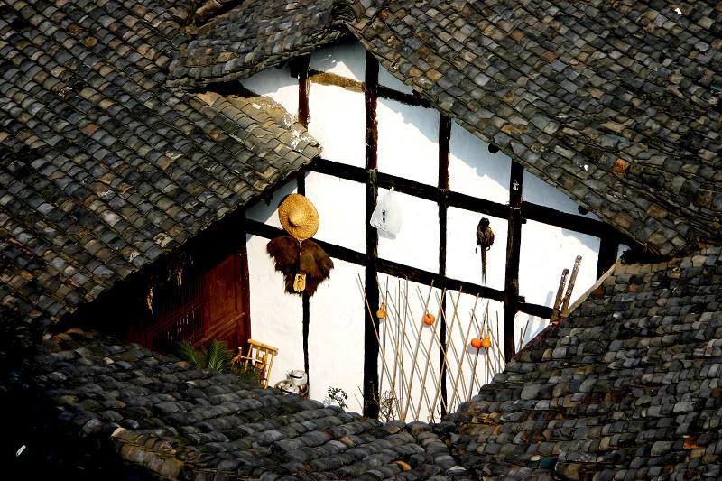 观雾山人作品:老房子