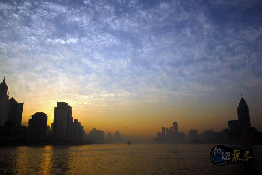 东方摄影爱好者作品:清晨黄埔江