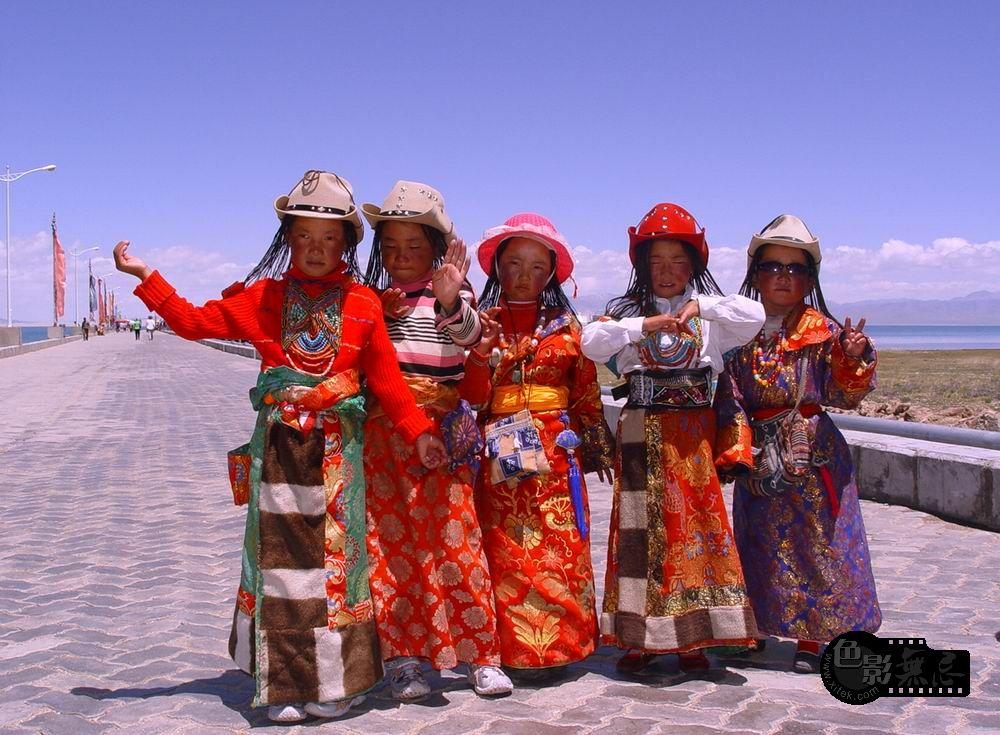 润扬作品:藏族女孩