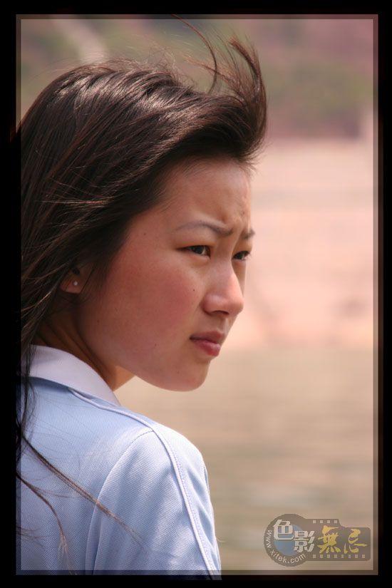 三峡风光作品:神农溪姑娘