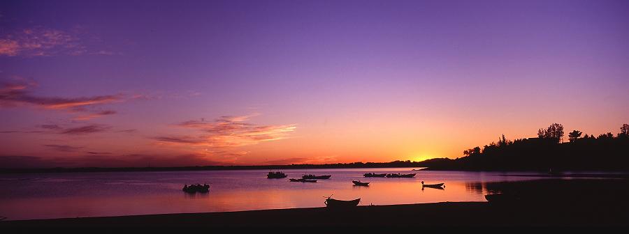 花果山作品:幽静的港湾