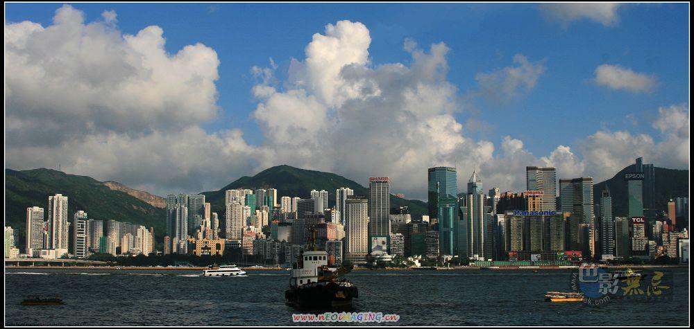 润扬作品:香港_维多利亚港