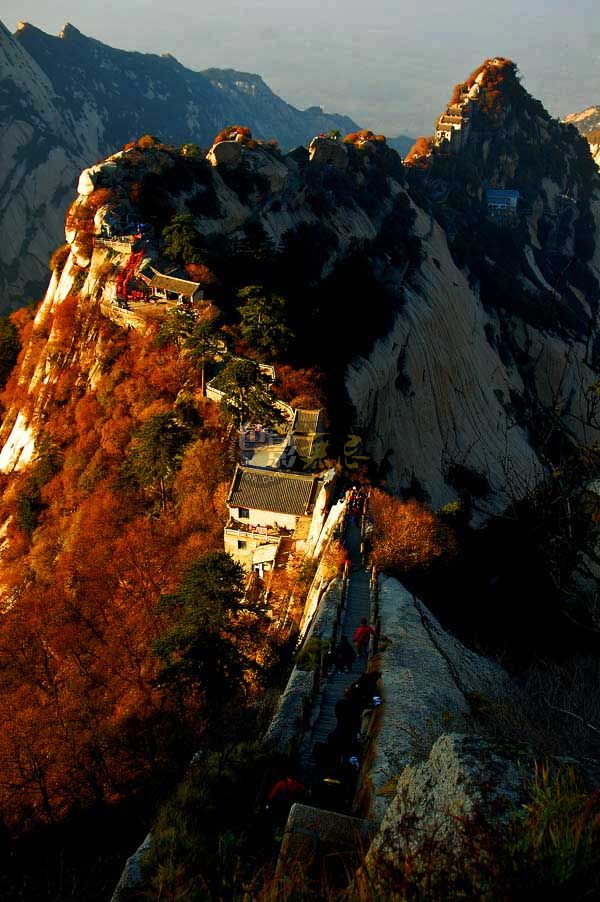 小小石石作品:西岳---华山