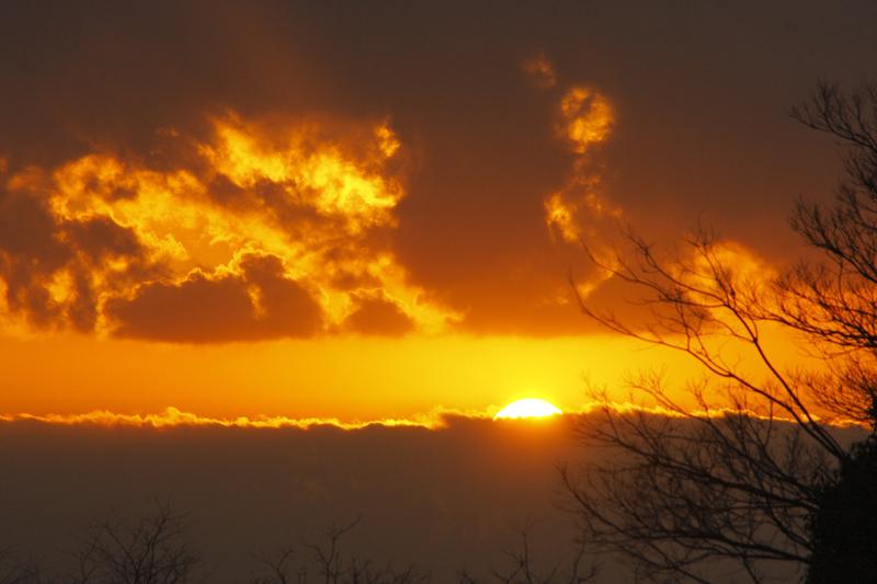 良月朗作品:日落组图