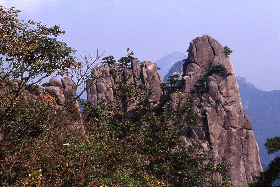 huxian作品:黄山峰3