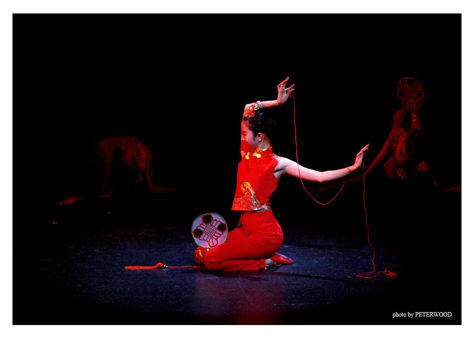 Peterwood07作品:舞蹈<<中国结>>