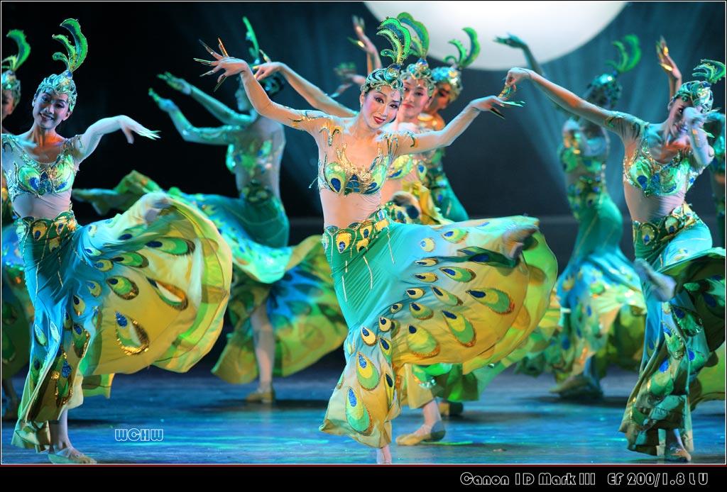 于今天下午中国东方歌舞团在北展剧场的演出 -wchw摄影作品 舞蹈