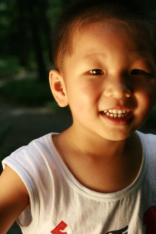 fyb作品:儿童节时的儿子