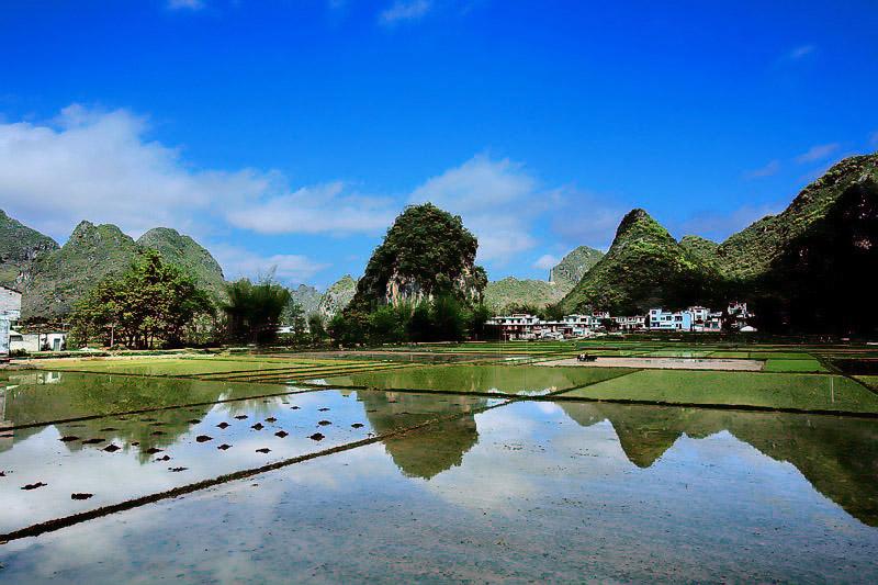 林戈摄影作品 山水田园