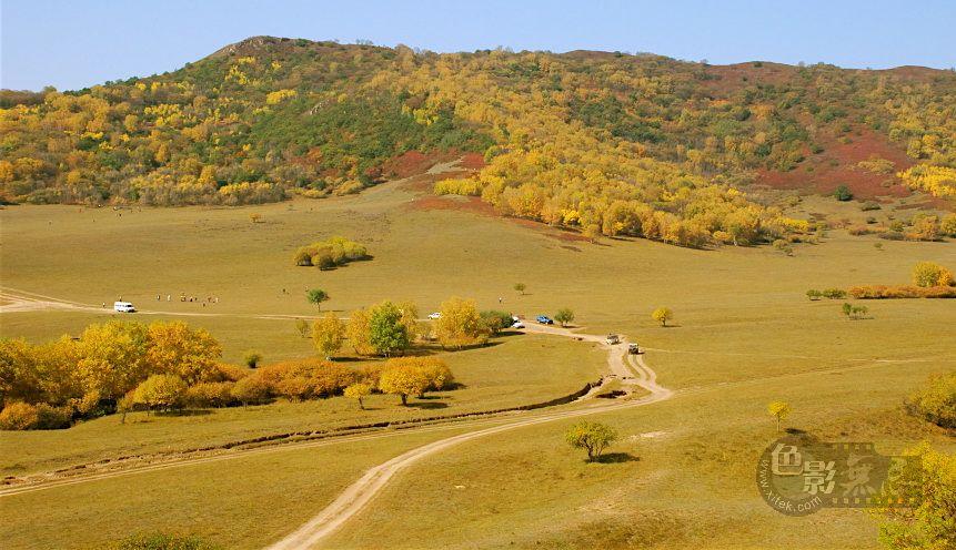 托斯卡那的一棵树作品:秋日童话-五彩山