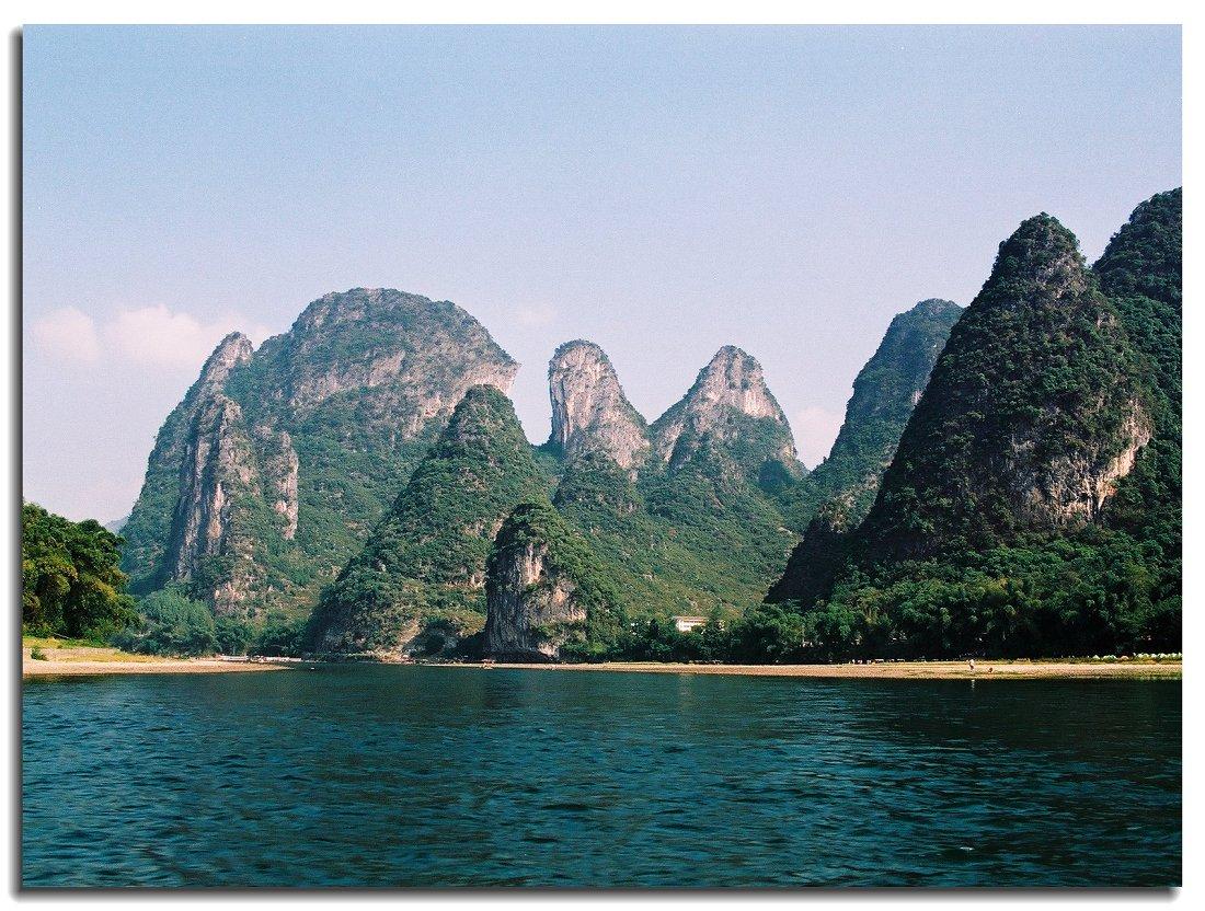马适作品:桂林山水