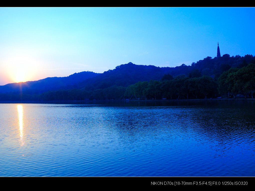 xudeyue作品:光影.西湖--残阳