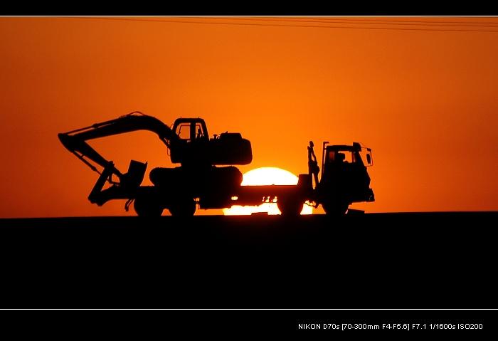 kxty作品:夕阳(2)