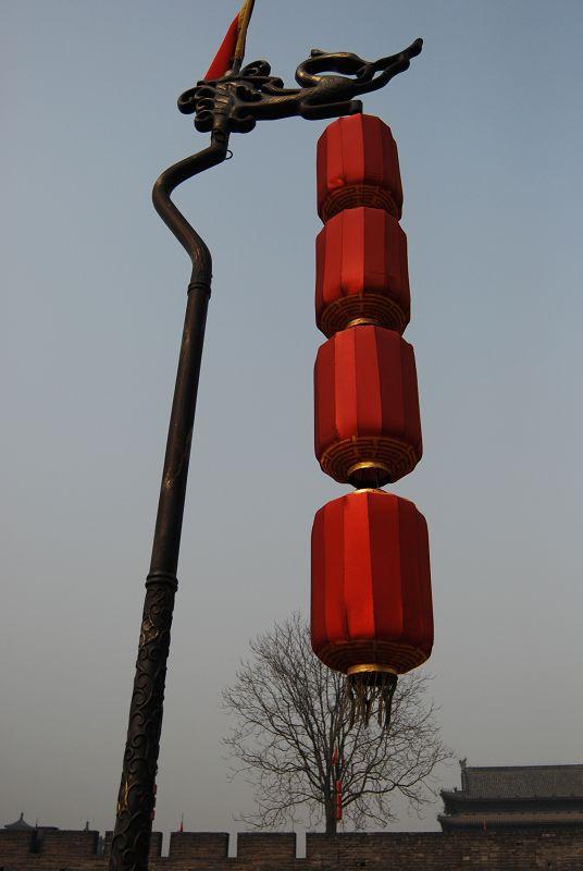 谷香谷色作品:红灯高挂