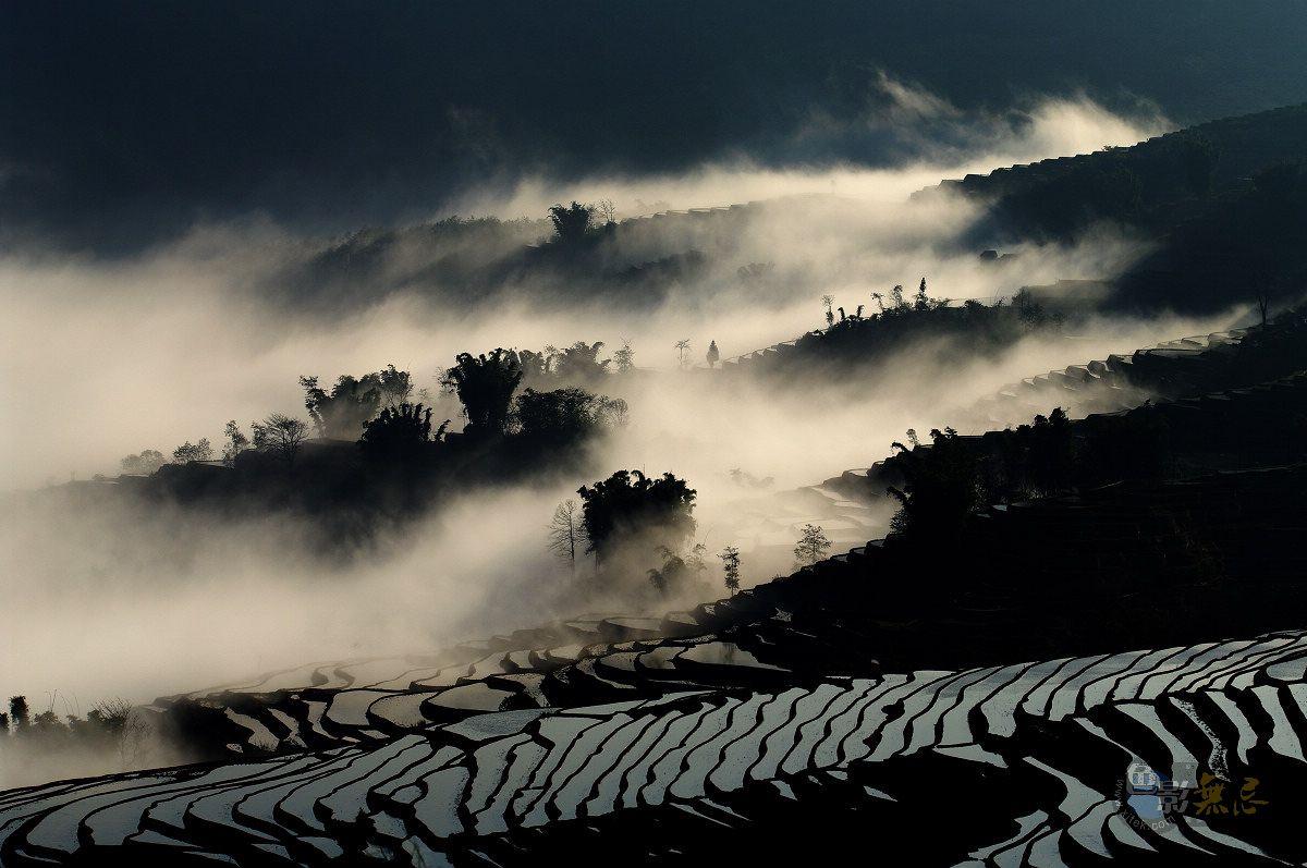 ype作品:元阳的云雾之一