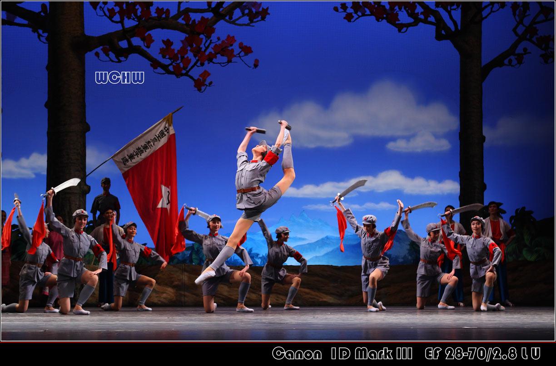wchw作品:操练-经典怀旧《红色娘子军》
