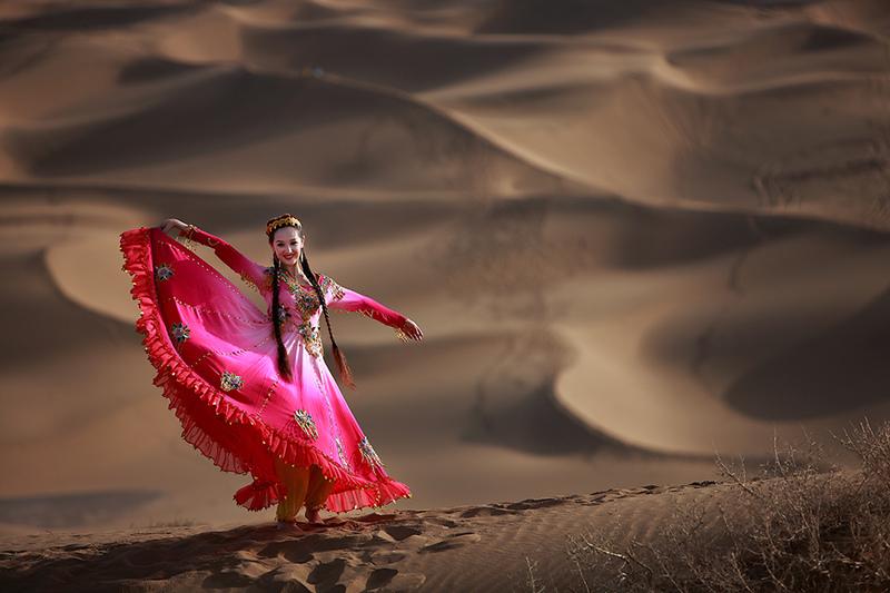 周海作品:金沙起舞