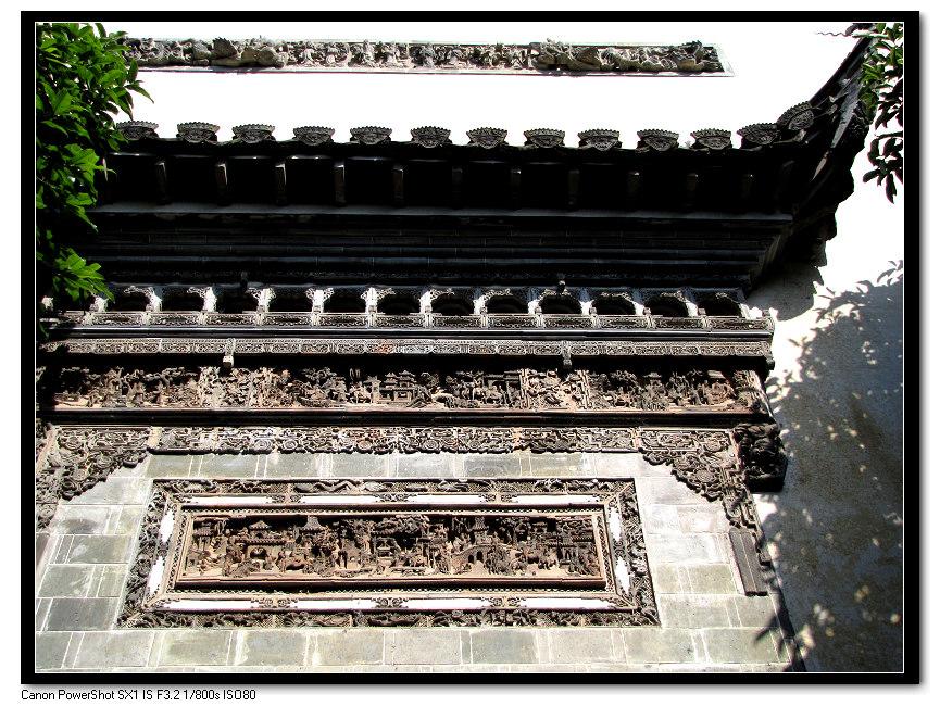 老铁515作品:徽州绝活——砖雕