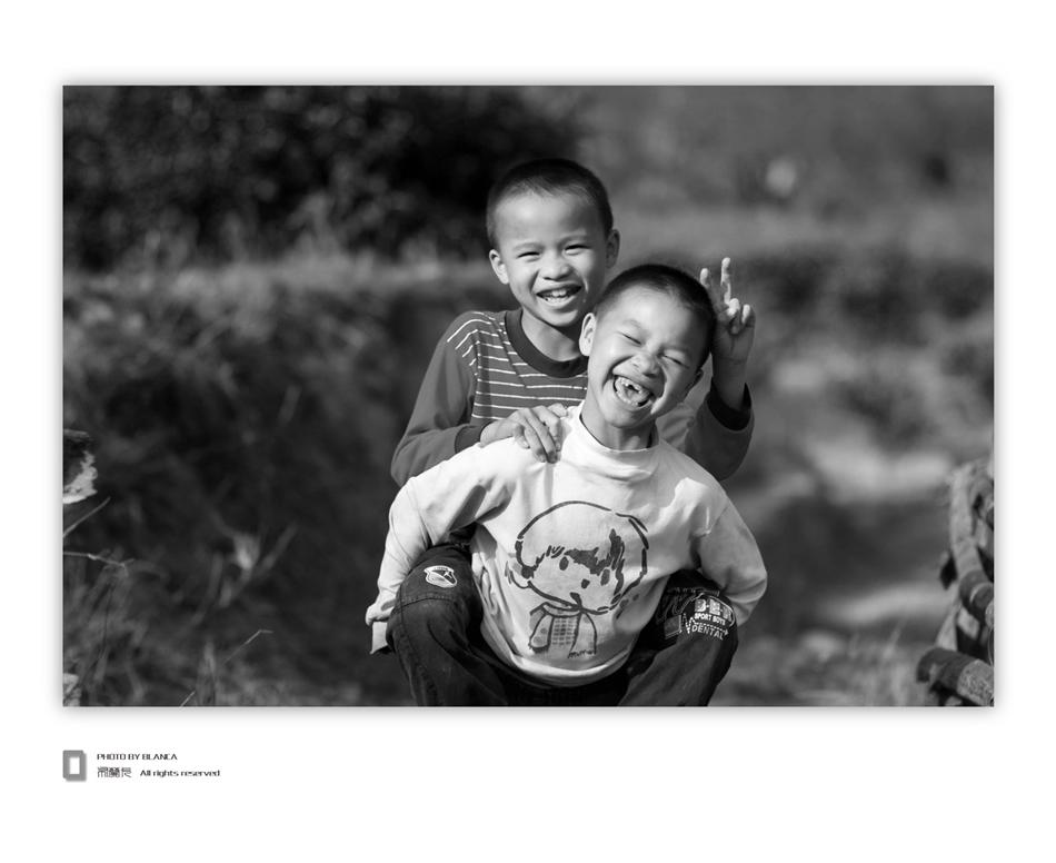 blanca作品:阳光与欢笑