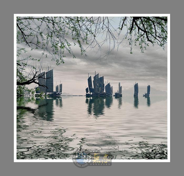 无锡阿德作品:太湖帆影2
