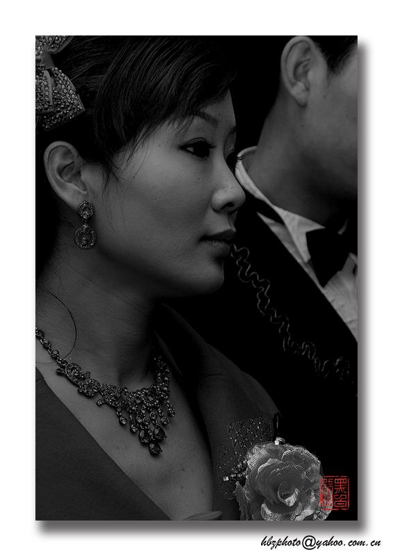 黑白張作品:新娘