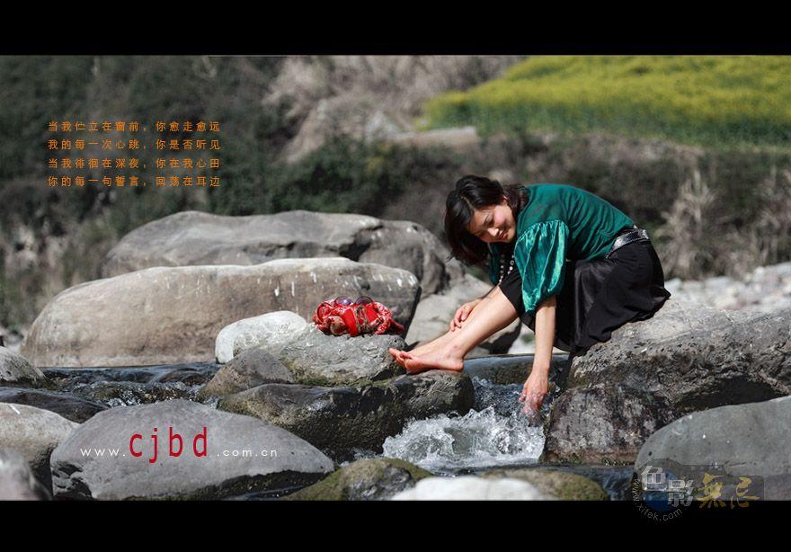 三峡风光作品:戏水