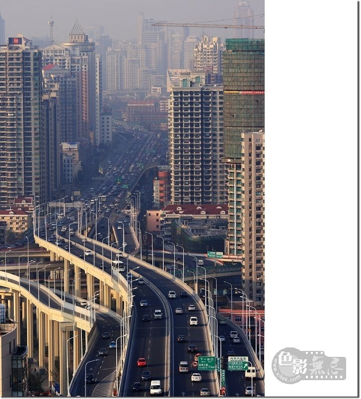 20摄影作品 上海南北高架路图片