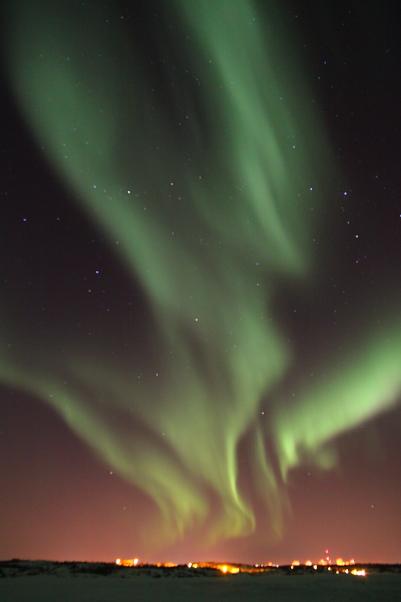 dongyuan作品:北极光和美丽的星空