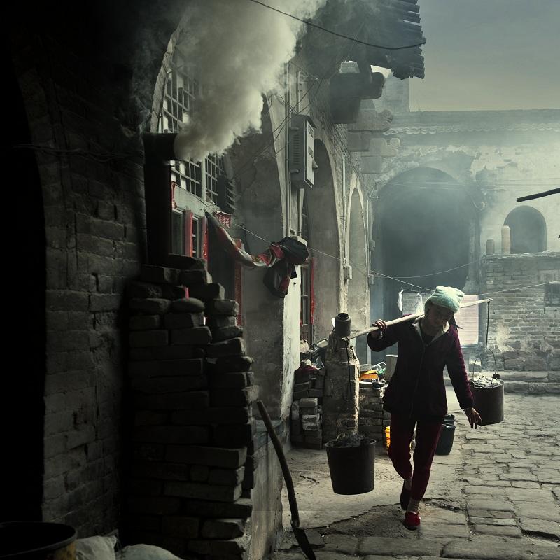 江湖行2010作品:黄河岸边的人家