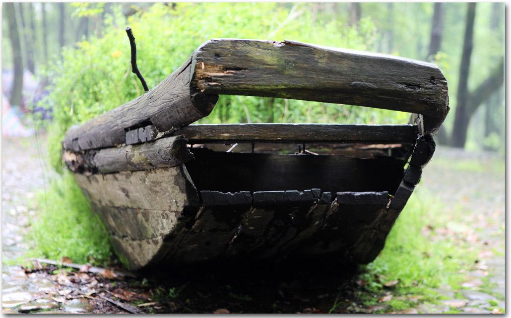 gjk作品:一只老船