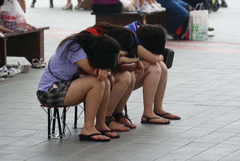 huojian作品:真累了!