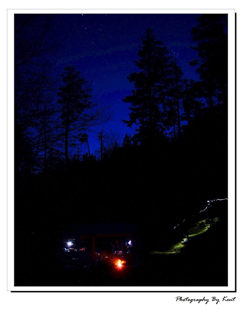 子非鱼作品:营地之夜