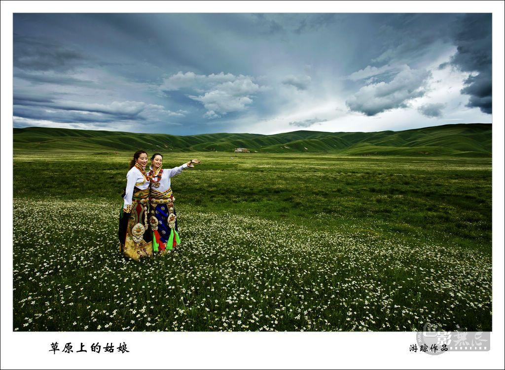 游踪KD作品:草原上的姑娘2