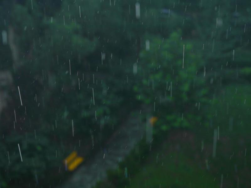 kotea作品:下雨了