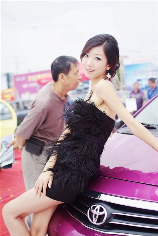 mynamecjr作品:最喜欢的车展MM-LVMM(组照)