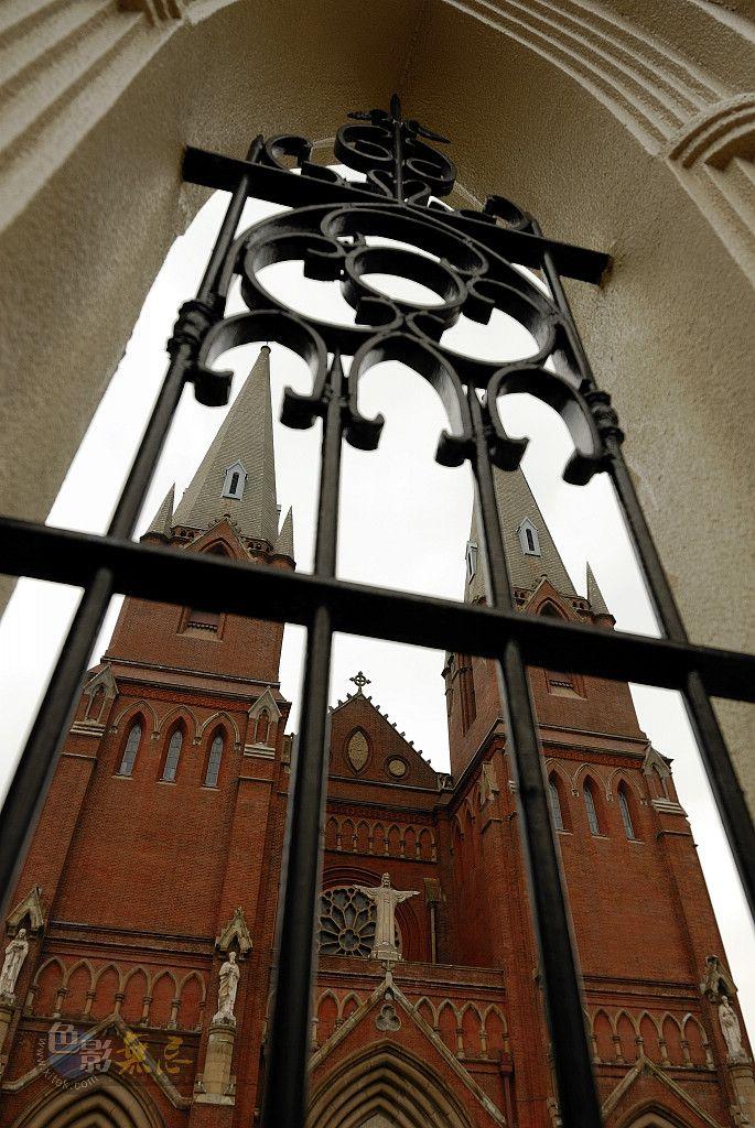 海上麦客作品:上海徐家汇天主教堂