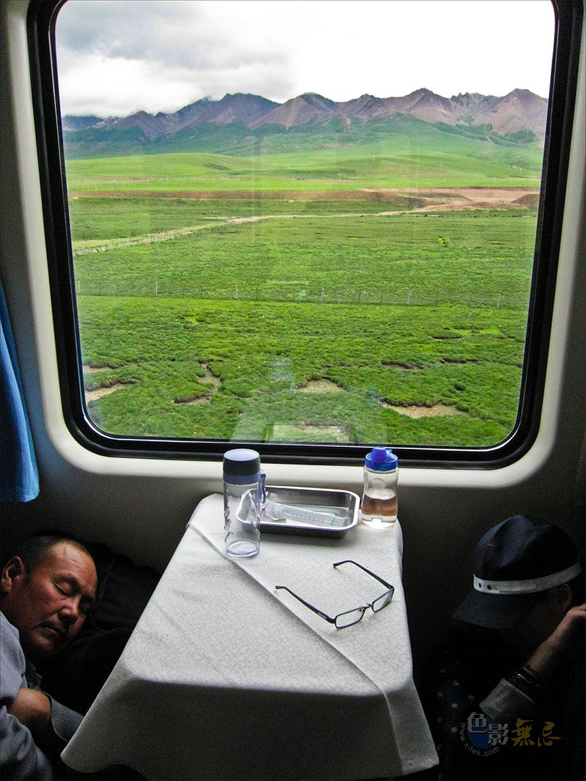 通铺异梦作品:旅行,美丽的草原,那曲 2010