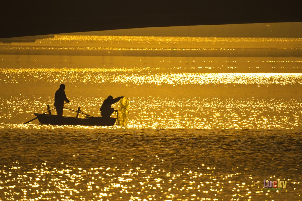 luckyangman作品:海河-----渔