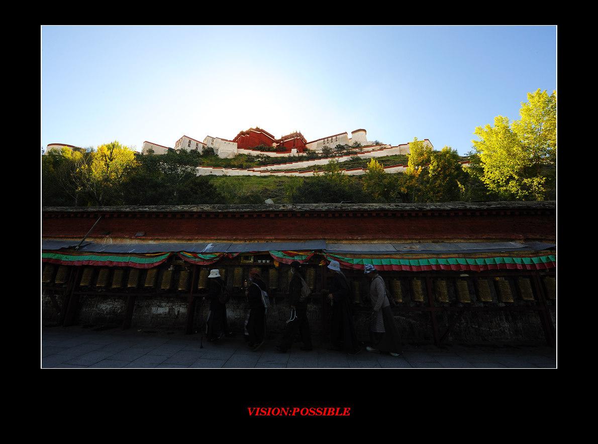 唐王孙作品:圣城的光辉