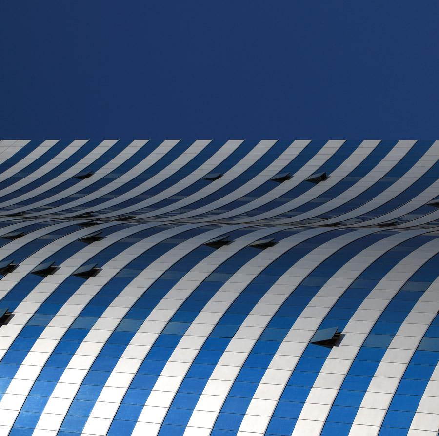 左海山人作品:流动的蓝