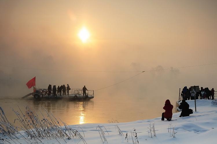 roylgf作品:冬日渡河